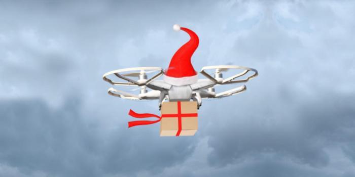 Drone Babbo Natale