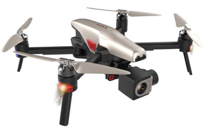 Walkera vitus drone pieghevole