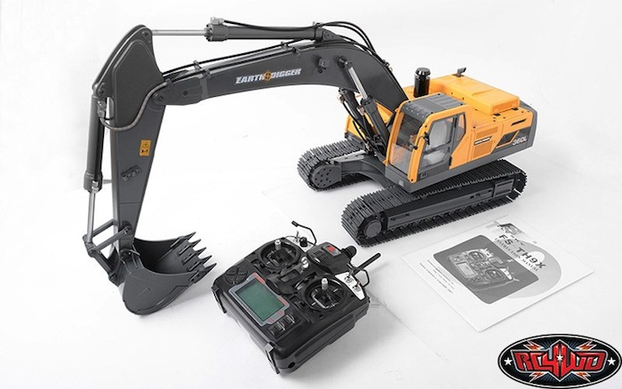 modellismo movimento terra rc4wd-earth-digger-360l-escavatore idraulico radiocomandato