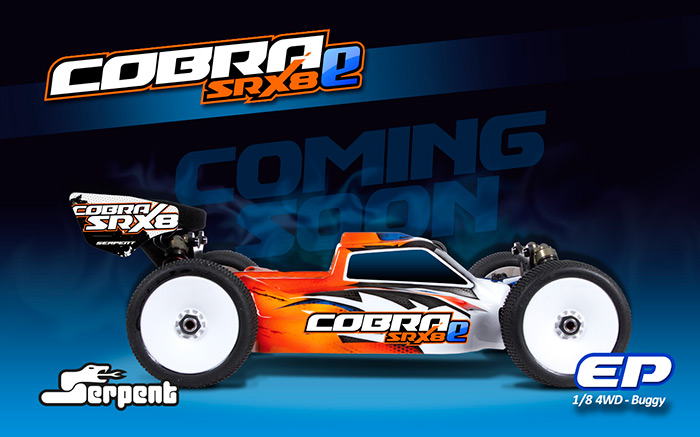 Cobra SRX8-e Buggy brushless