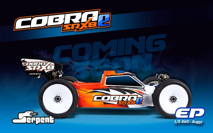 Cobra SRX8-e Buggy brushless