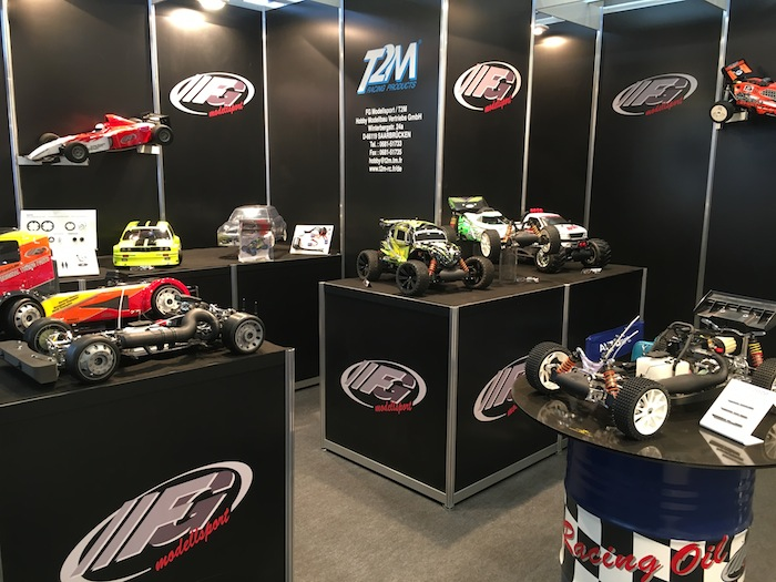 FG Modellsport bigscale RC spielwarenmesse booth