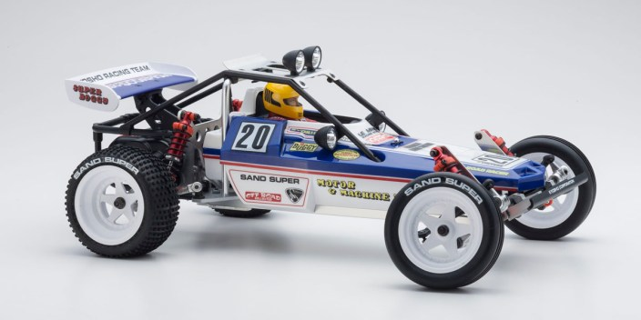 kyosho turbo scorpion buggy 2017 RC lato