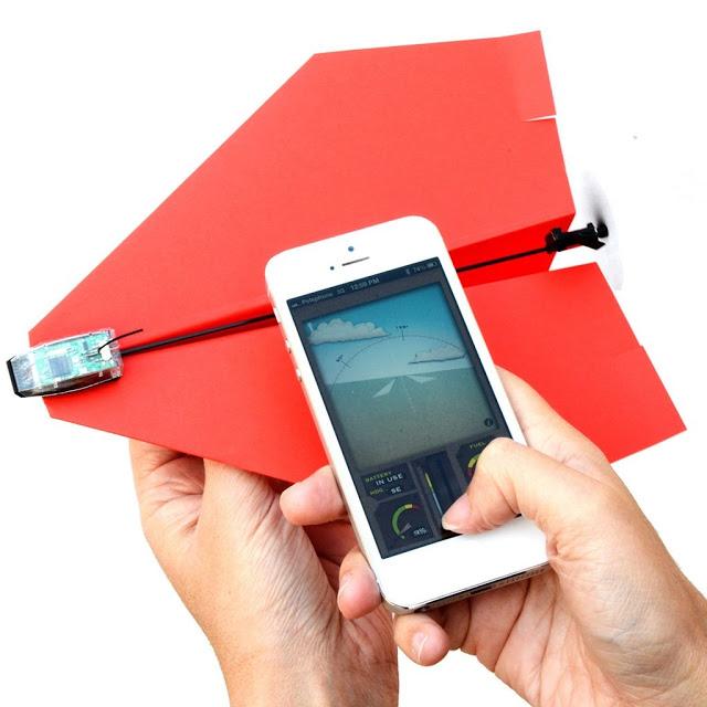 powerup 3 aeroplanino di carta smartphone