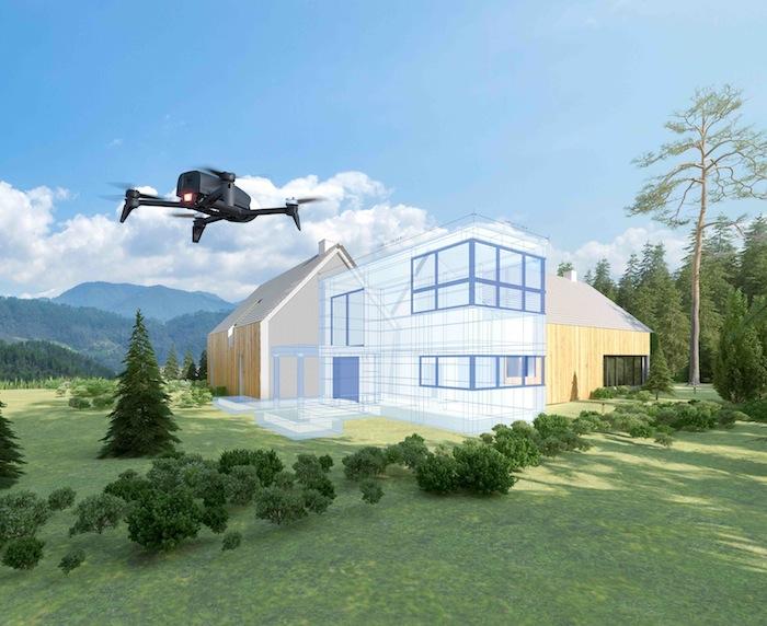 Parrot Bebop-Pro 3D Modeling HouseMapping