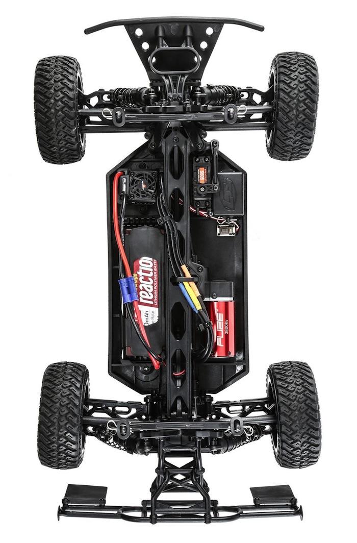 Team losi TENACITY SCT 4WD con AVC
