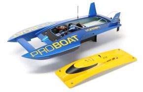 Il distributore automatico di motoscafi RC della ProBoat!
