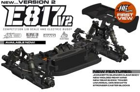 Hot Bodies E817 V2 Brushless Buggy 1/8