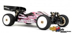 SWorkz S14-2 4WD Buggy elettrica da competizione in scala 1/10