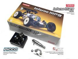 Kyosho Inferno MP9 TKI4 SP con motore PICCO V1 RACE
