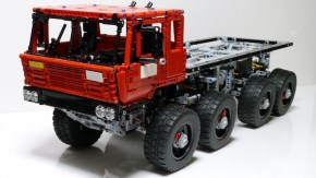 LEGO Truck Trial PL 1/2018: video reportage