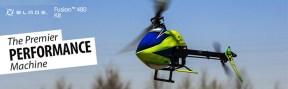 Blade Fusion 480 Elicottero per volo 3D - Horizon Hobby