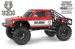 G-Made GS02 BOM Trial Truck in KIT - VIdeo Modellismo
