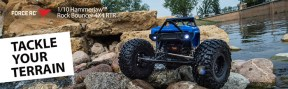 Force RC Hammerjaw 4WD Rock Bouncer Brushed RTR