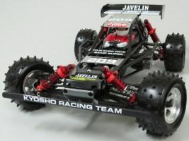 Kyosho Javelin - Nuova carrozzeria nera e rossa