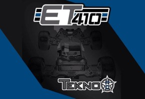 Tekno RC ET410 Truggy in scala 1/10