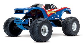 Traxxas: Bigfoot Monster Truck Red, White & Blue edition