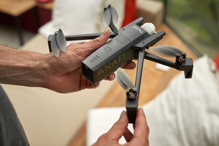 Parrot ANAFI: drone con camera 4K HDR con sensore 21 MP