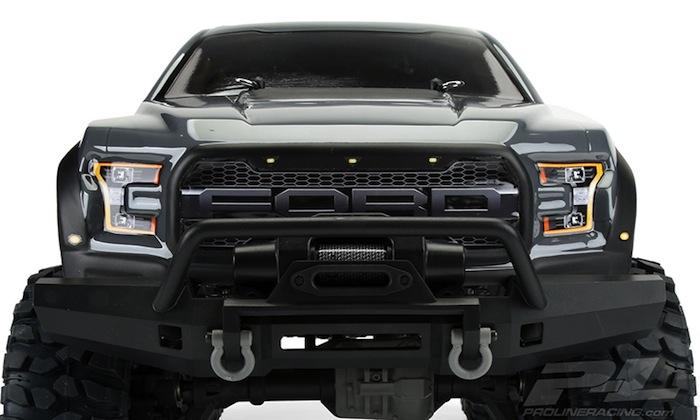 ProLine: carrozzeria 2017 Ford F150 Raptor per Traxxas TRX4