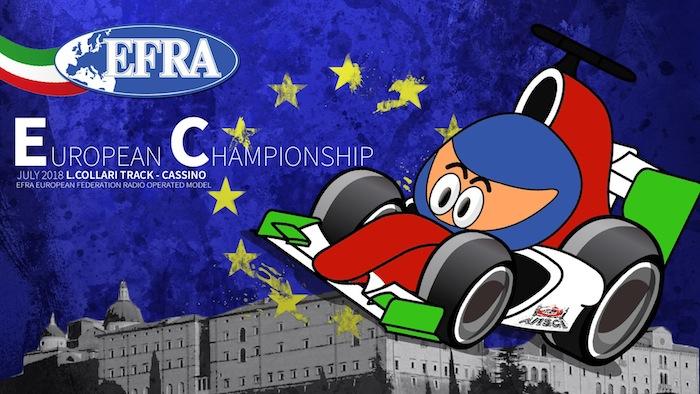 EFRA 1/8th Track Euros: qualifiche e Super Pole in diretta
