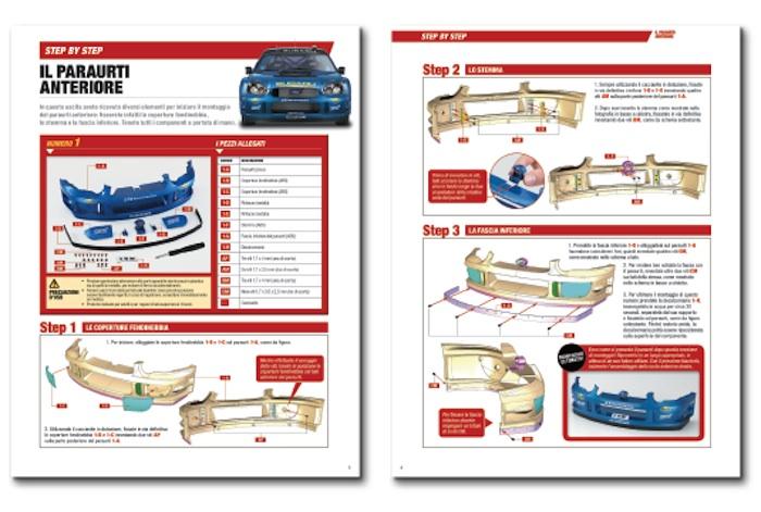 Hachette: Costruisci la Subaru Impreza WRC 2003