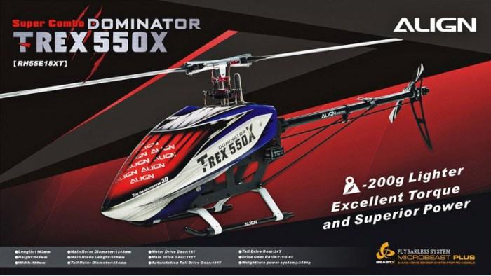 Trex 550X Dominator