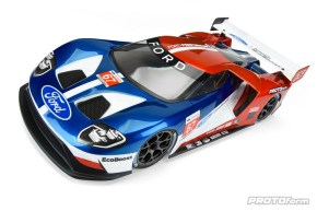Carrozzeria PROTOform Ford GT per Touring Car 190mm
