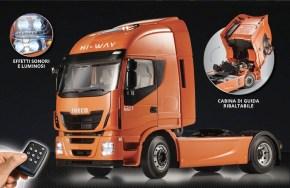 """Ritorna in edicola la raccolta a fascicoli """"Costruisci il mitico camion Iveco Stralis"""" della Hachette"""
