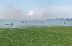 IRCHA 2018: volo acrobatico con il Team Align