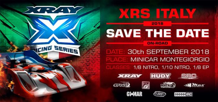 Xray Racing Series Italy