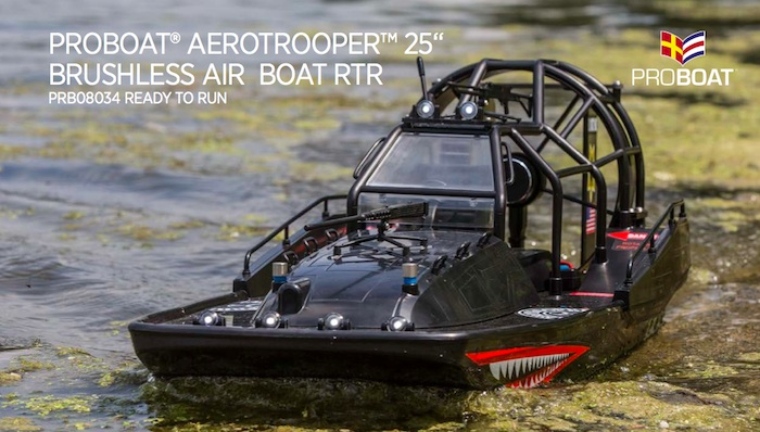 Pro Boat Aerotrooper - Brushless AIR BOAT RTR