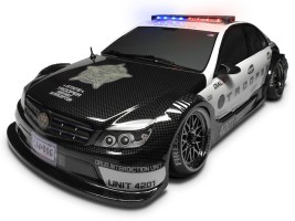 Fire Brand RC: Trooper Kit LED police light - Lampeggiatori della polizia