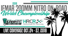 Live stream video: Campionati mondiali 2018 IFMAR 1/10 nitro On-Road