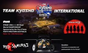 TEAM KYOSHO: Campionati mondiali buggy 1/8