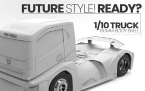 Bittydesign: carrozzeria camion per Touring Car 190mm