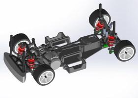 Yeah Racing: Kit di conversione per M07 M-chassis