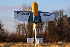 Aeromodello acrobatico E-flite Extra 300 3D BNF Basic