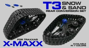 Integy T3 Snowmobile: cingoli per Traxxas X-Maxx