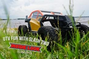 JConcepts UTV - Converti il Traxxas Slash 2WD