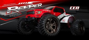 CEN Reeper Monster Truck in scala 1/7 - Video
