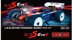 HongNor X3S EvoE Buggy Brushless da competizione