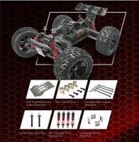 Team Magic: Nuovo Monster Truck E6 V-GEN