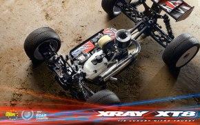Xray XT8 2019: Nuovo Truggy Nitro in Scala 1/8