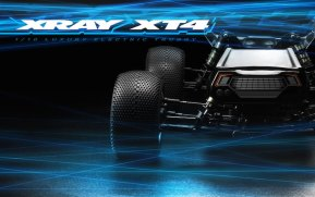 Xray XT4 Truggy 4WD Brushless in scala 1/10