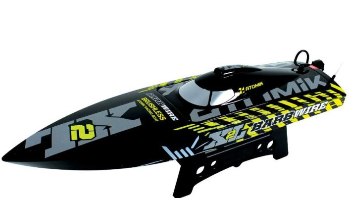 Atomik- Barbwire XL 2 Brushless RC Boat