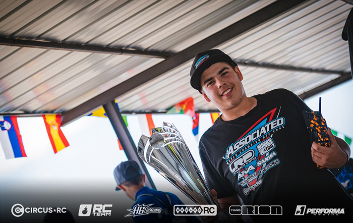 campione europeo Buggy 2WD