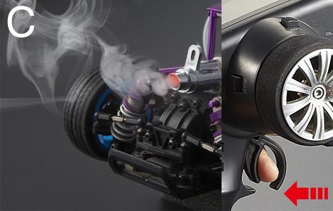 Killerbody- Smoky Exhaust Pipe with LED Unit