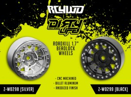 RC4WD Dirty Life Roadkill 1.7 Ruote Beadlock in alluminio