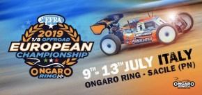 2019 European Championship 1/8 Buggy: Le qualifiche in diretta!