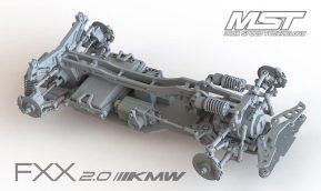 FXX 2.0 KMW: nuovo telaio da drifting Max Speed Technology